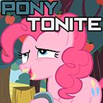 Pony Tonite Podcast Logo