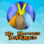 No Hooves Barred Logo