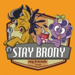 Stay Brony, My Friends Logo
